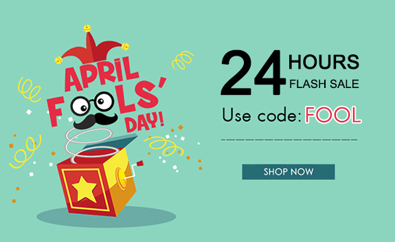 ✨April Fool's Day Flash Sale, up to 90% off
