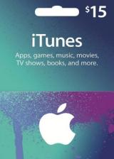 Official Apple iTunes Gift 15 USD