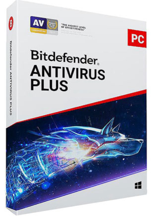 Bitdefender Antivirus Plus 2019 1 PC 1 Year Key Global