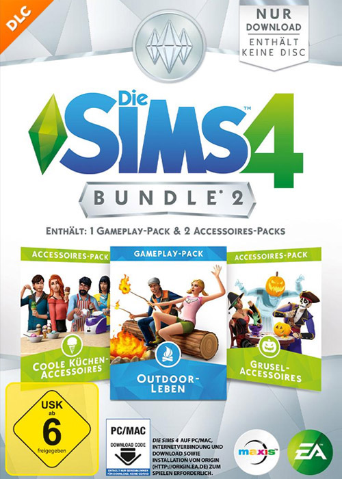 The Sims 4 Bundle Pack 2 DLC Origin CD Key