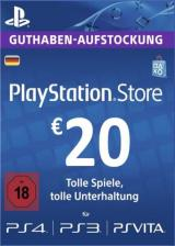 whokeys.com, Play Station Network 20 EUR DE