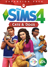 whokeys.com, The Sims 4 Cats And Dogs DLC Origin CD Key Global