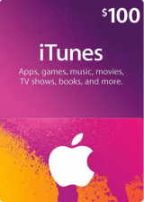 whokeys.com, Apple iTunes Gift 100 USD