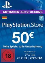 whokeys.com, Play Station Network 50 EUR DE
