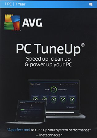 AVG TuneUp 2017 1 PC 1 YEAR Global