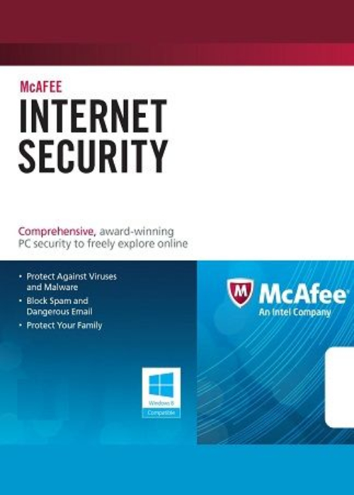 McAfee Internet Security 2017 1 PC 1 YEAR Global