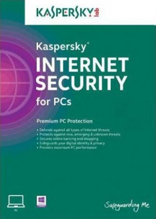 Kaspersky 2018 Internet Security 1 PC 1 YEAR EU