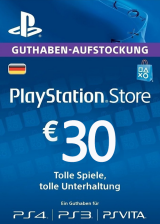 whokeys.com, Play Station Network 30 EUR DE