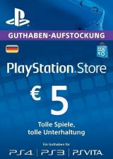 whokeys.com, Play Station Network 5 EUR DE