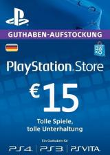 whokeys.com, Play Station Network 15 EUR DE