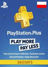 Official Playstation Plus 365 Days Poland