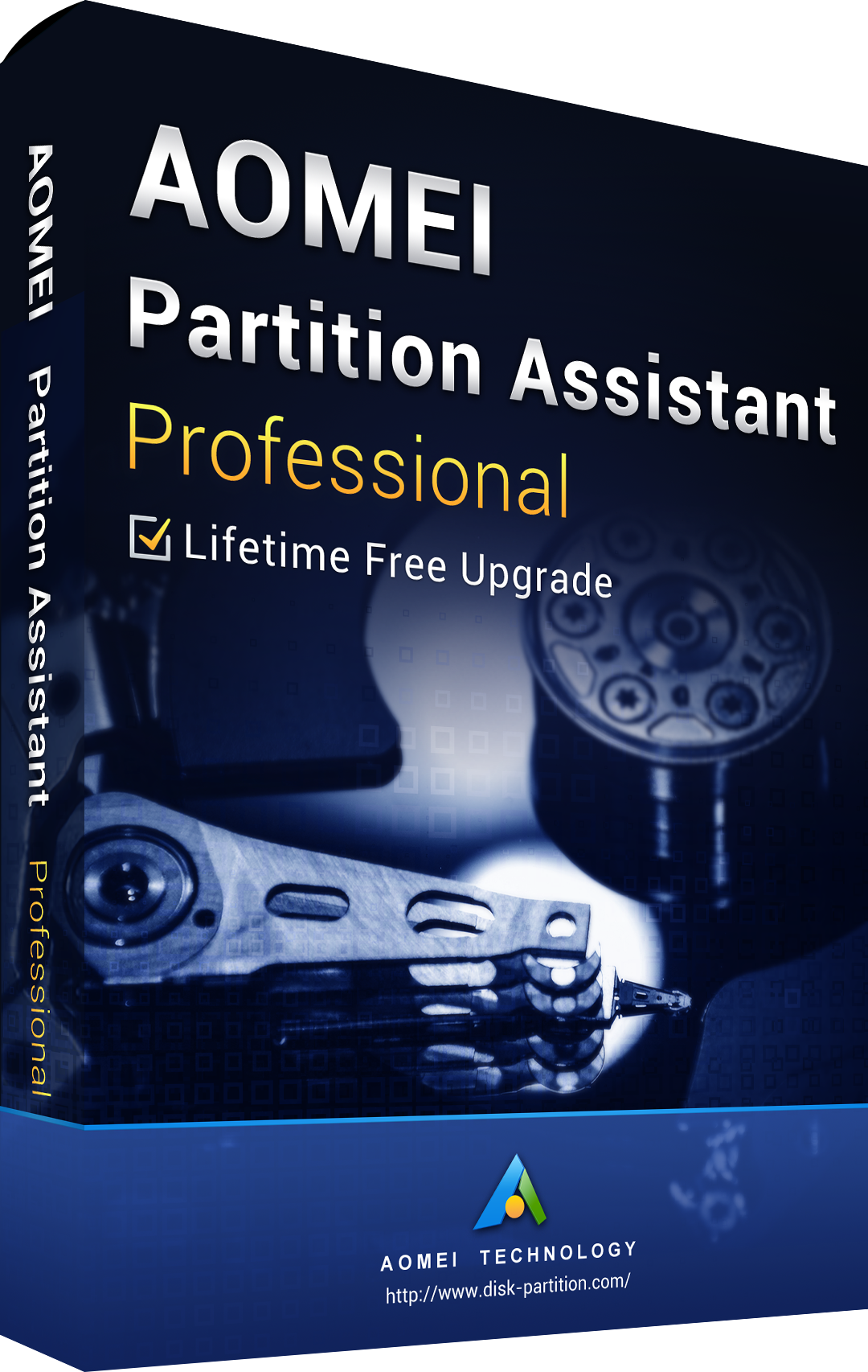 AOMEI Partition Assistant Professional + Free Lifetime Upgrades Key Global