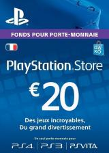 whokeys.com, Play Station Network 20 EUR FR