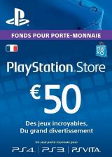 whokeys.com, Play Station Network 50 EUR FR