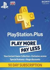 whokeys.com, Playstation Plus 90 Days UK