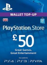 whokeys.com, Play Station Network 50 GBP UK