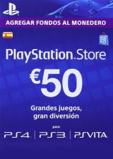 whokeys.com, Play Station Network 50 EUR ES/SPAIN