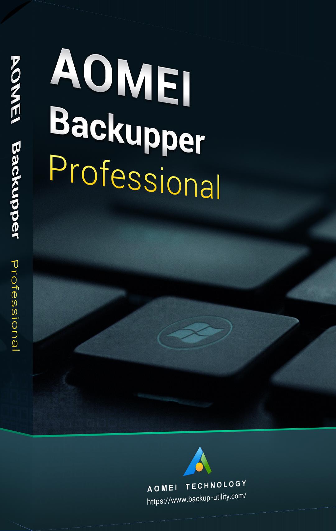 AOMEI Backupper Professional Edition 365 Days Key Global