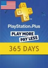 whokeys.com, Playstation Plus 365 Days Card North America