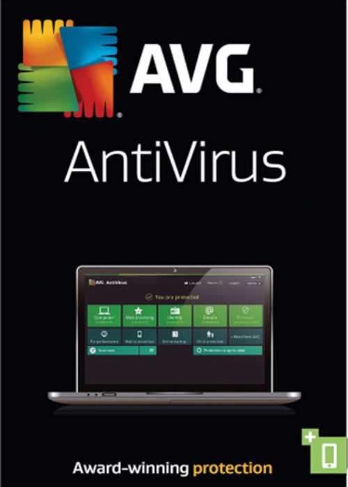 AVG Antivirus 3 PC 1 Year Key Global