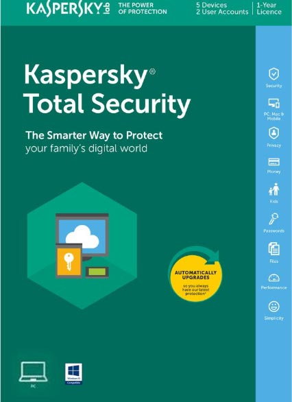 Kaspersky Total Security 2019 1 PC 1 Year Key North America