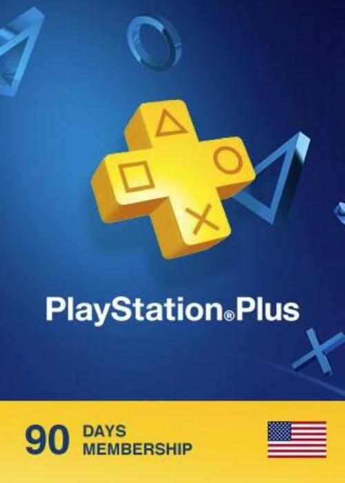 Playstation Plus 90 Days Card North America