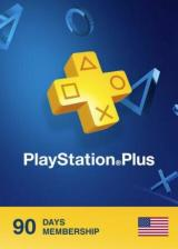 Official Playstation Plus 90 Days Card North America