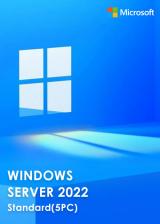 Official Windows Server 2022 Standard Key Global(5PC)