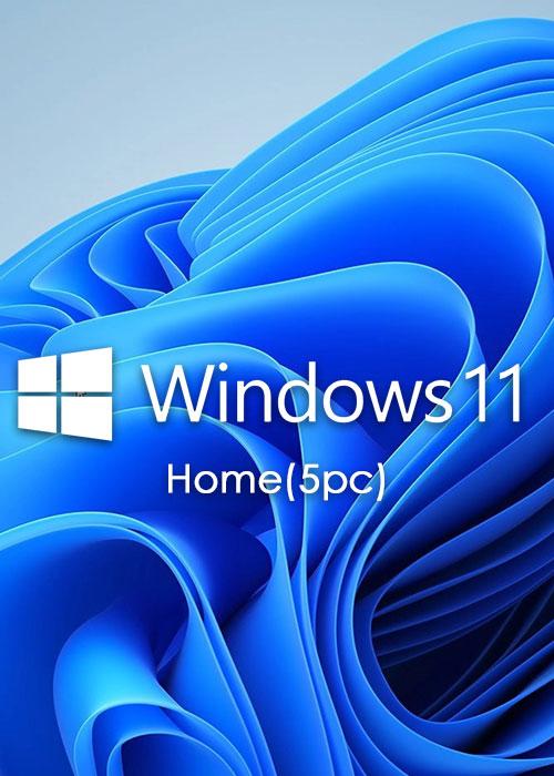 Microsoft Windows 11 Home OEM CD-KEY GLOBAL(5PC)