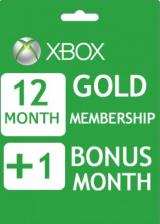 whokeys.com, Xbox Live 12+1 Months Gold Membership Card Global