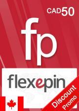 whokeys.com, Flexepin Voucher Card 50 CAD