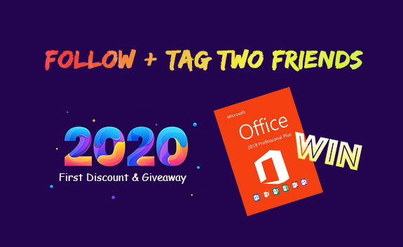 2020 first discount giveaway